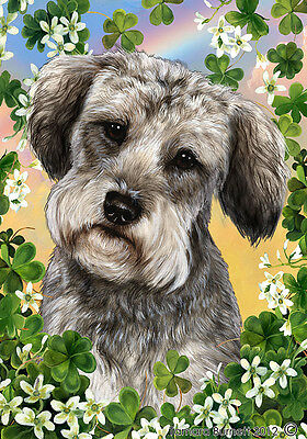 Garden Indoor/Outdoor Clover Flag - Schnoodle 314741