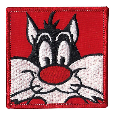 Sylvester the Cat Looney Tunes Red 90's Iron On Patch
