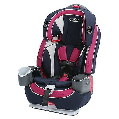 Graco Nautilus 65 3-in-1 Harness Front Facing Multi-Recline Booster Seat, Ayla