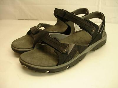 Mens 13 M Columbia Surf Tide II Black Moonstone Sport Sandals Hiking Trail Water