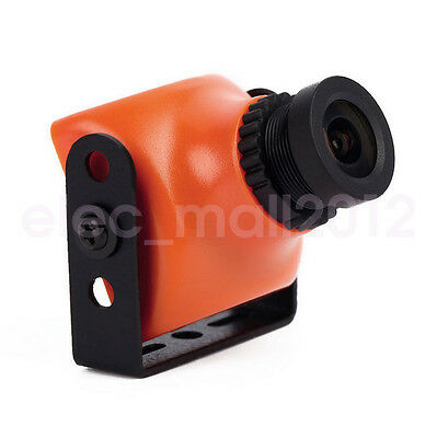 New Mini CCD 600TVL RC FPV Camera 2.8mm NTSC Orange Drone Quadcopter