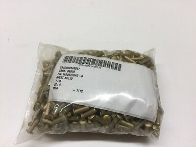 Military Standards Solid Rivet 1 Lb Each MS20470A5-8 F-16 C-130 Aircraft M939