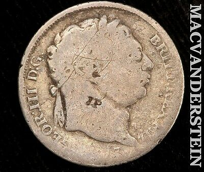1817 Great Britain George Iii Farthing- Scarce !! Better Date !! R7182