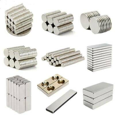1-100pcs Super Strong N35 Magnet 10 *5mm Round Disc Magnets Rare Earth Neodymium