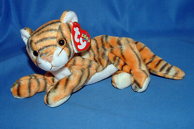 Ty Beanie Baby India - MWMT (Cat Tiger 2000)