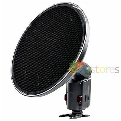 Godox AD-S3 Beauty Dish + Honeycomb Grid Cover For WITSTRO Flash AD180 AD360【UK】