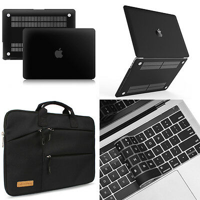 """Premium Rubberized Case Laptop Bag Keyboard Cover For 2016 13""""13.3"""" Macbook Pro"""