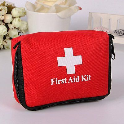 Useful Emergency Camping Travel Hiking Survival First Aid Set Kit Rescue Bag TU