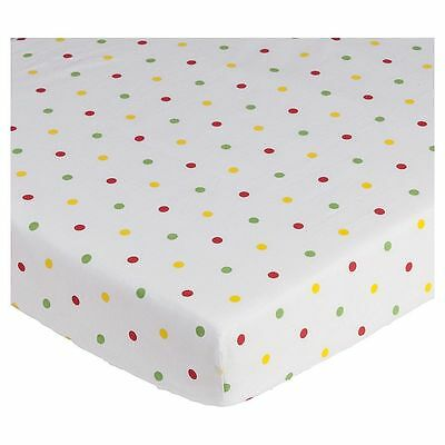 NEW Tesco Cot Bed Sheets, Brights Story - Pack of 2