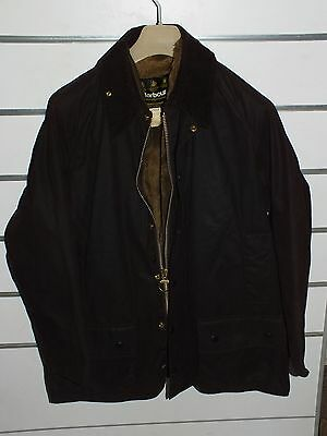 barbour beaufort jacket +thornproof+inner pile brown waxed cotton   c42-107 L