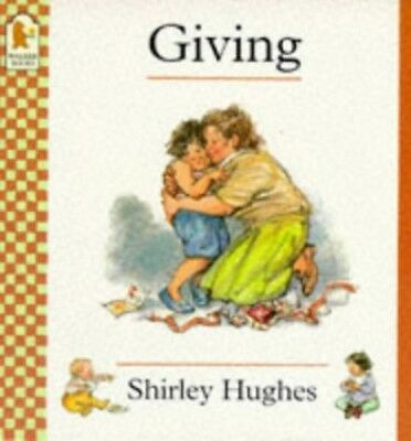 Giving (Doing words), Hughes, Shirley Paperback Book The Cheap Fast Free Post
