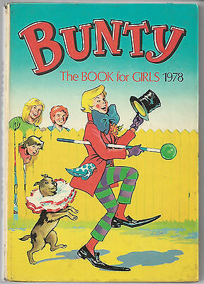 2 girls annuals Bunty Book for Girls 1978 Diana for Girls 1974 good clean books