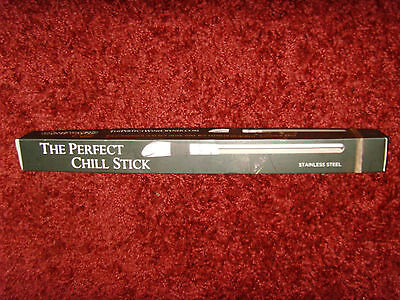 EUC The Perfect Chill Stick Vineyard Elite for Wine Stainless Steel great item