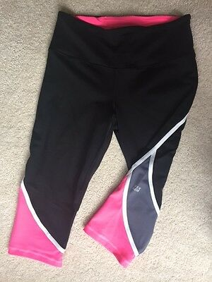 Victoria's Secret VSX Sport Women's Knockout Cropped Pants/Tights- Size M
