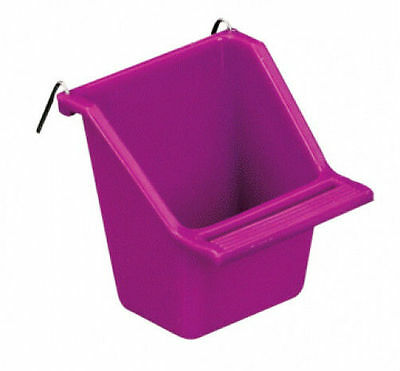 Hagen Living World Bird Cage Feed Seed Cup Small Birds 2 oz COLORS VARY