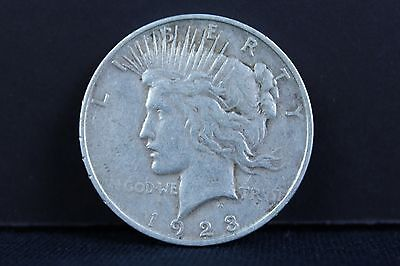 1923 P Silver Peace One Dollar Coin