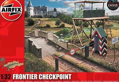 Airfix D-Day Frontier Checkpoint Border crossing Checkpoints 1:32 Item A06383