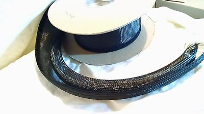 "Tech Flex, Flex O Wrap 2"" black.  Priced per foot with 40' available"