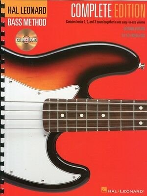 Hal Leonard Bass Method - Complete Edition: Books 1, 2 and 3 Boun...