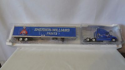 Sherwin Williams Paint Co. Cover The Earth Die Cast Truck and Trailer #J113