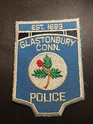 Glastonbury Connecticut Police  Shoulder  Patch