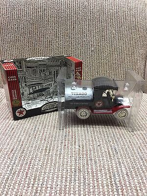 1912 Ford Oil Tanker - Heavy Die Cast Metal  1:24 Scale Coin Bank Replica