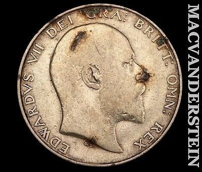 1902 Great Britain Half Crown- .42 Asw !! Better Date !! #r7279