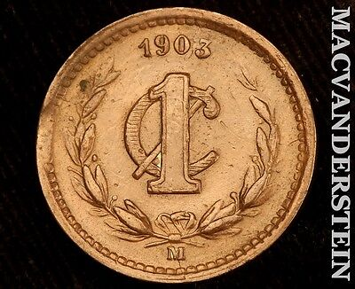 1903 Mexico 1 Centavo- No Reserve !! High Grade !! #r7467