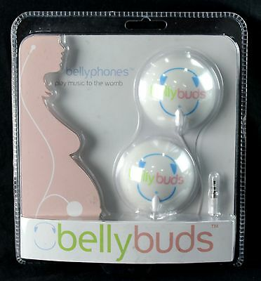 New BELLY BUDS Multi-Color Prenatal Womb Music Playing Bellyphones