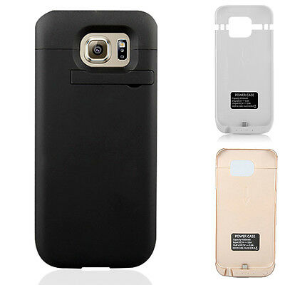 4500mAh External Backup Power Battery Charger Case For Samsung Galaxy S6 Edge S5