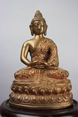 20th C. Chinese Bronze Figure Of Buddha