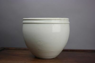 18th/19th C. Chinese Soft-Paste White-Glazed Porcelain Jar