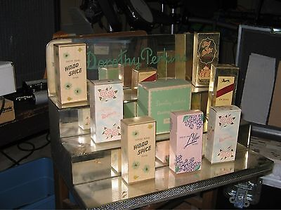 Dorothy Perkins 1950s mirrored store counter display cosmetics perfume cologne