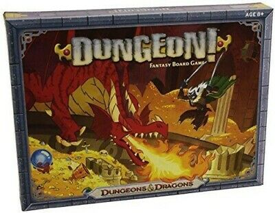 Dungeon! Fantasy Board Game Dungeons and Dragons D&D