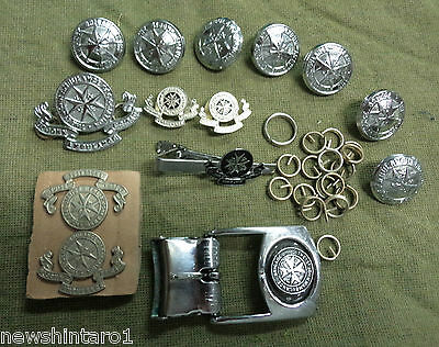 #d145.  St  Johns  Ambulance Job  Lot Of Buttons, Badges, Buckle