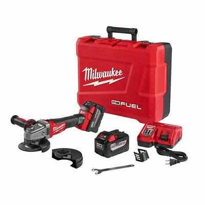 Milwaukee M18 FUEL 5 in. Grinder w/ Lock-On Slide Switch 2781-22HD new
