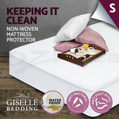 Fully Fitted Waterproof Mattress Protector Non Woven Single Cover