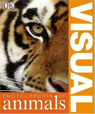 Visual Encyclopedia of Animals Paperback Book The Cheap Fast Free Post