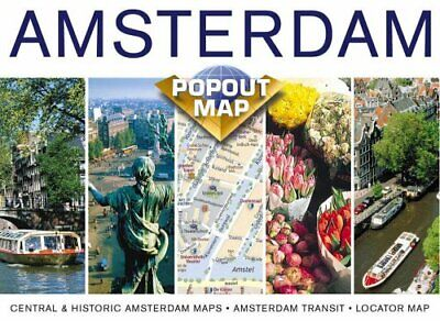 Amsterdam (Popout Maps) by Compass Maps Sheet map Book The Cheap Fast Free Post