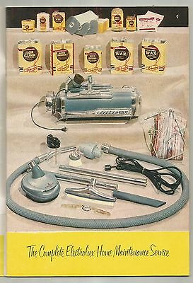 1954 Electrolux Vacuum Cleaner Old Greenwich Ct Mid Century Modern Users Manual