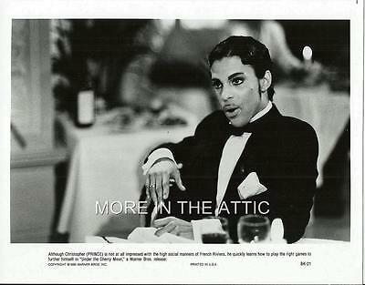 Prince Lot Of 3 Orig Us Film Stills Purple Rain Under The Cherry Moon