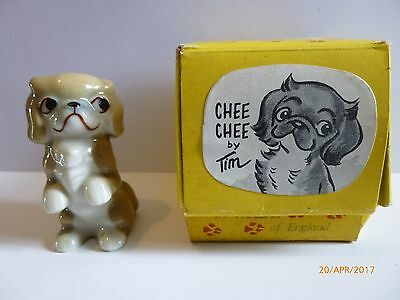 Wade Whimsie Tv Pets Chee Chee With Original Box