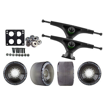 Bear 852 Black Longboard Trucks Wheels Package Bigfoot 70mm Pathfinders Black