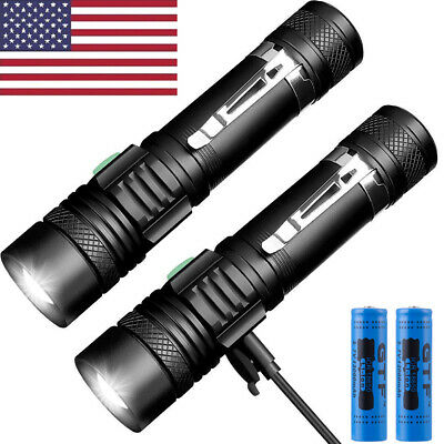 8000lm Genuine Lumitact G700 Tactical Flashlight Military Grade Torch + battery