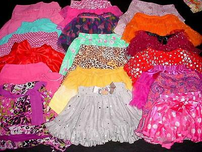USED BABY TODDLER GIRL SHORT SKIRT SKORT 5T 6T years SPRING SUMMER CLOTHES LOT