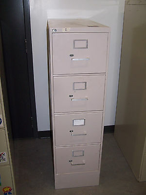 """used""   4 Drawer  Metal  File Cabinet-Pick Up Only! #2"