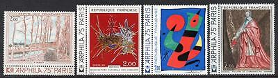 FRANCE MNH 1974  French Art