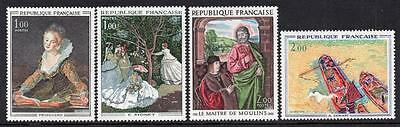 FRANCE MNH 1972  French Art