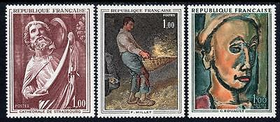 FRANCE MNH 1971 French Art