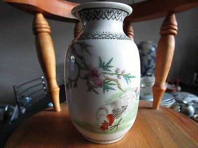 Chinese early 20th Century Quality Hand painted Republic Vase